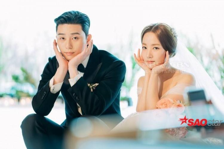 Lộ ảnh cưới độc quyền đẹp lung linh của Park Seo Joon và Park Min Young trong Thư ký Kim sao thế? - Hình 10