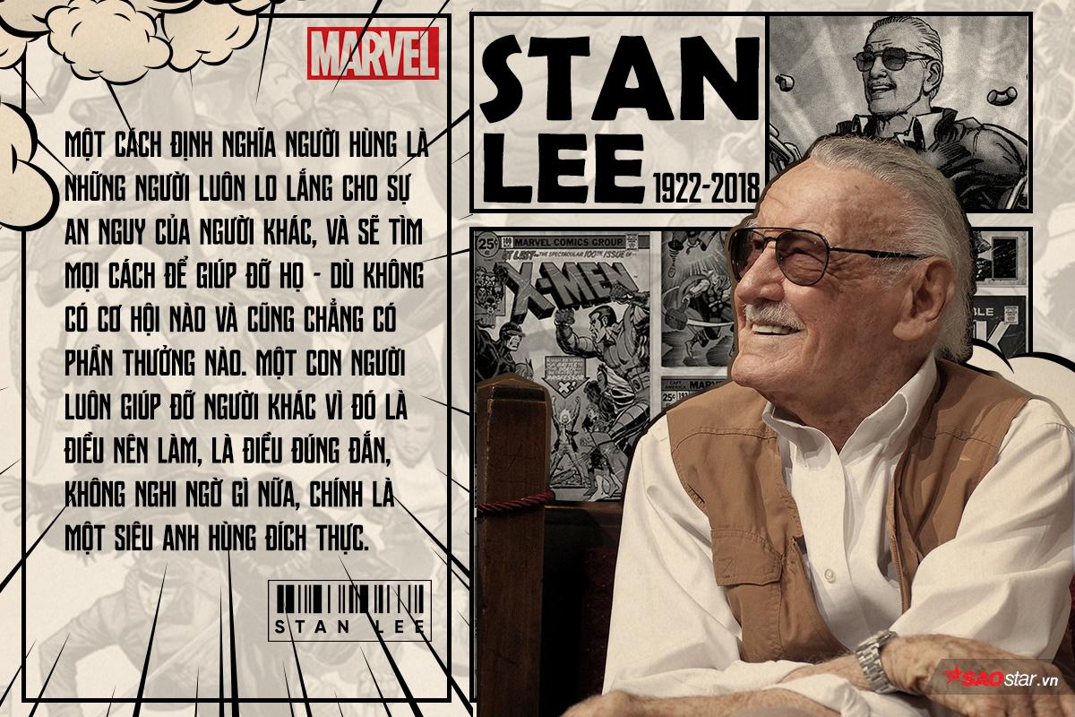 Tưởng nhớ huyền thoại Stan Lee của Marvel qua 18 câu nói để đời - Hình 17