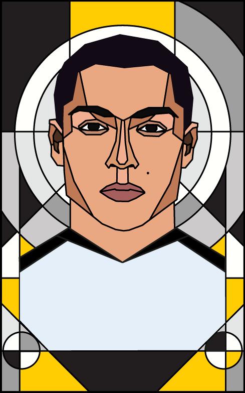 Những cầu thủ xuất sắc nhất 2018 qua bút vẽ: Ronaldo bỏ xa Messi - Hình 2