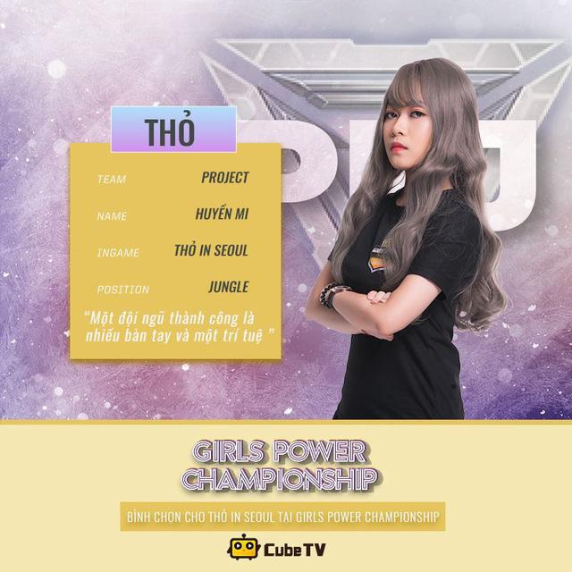 Săm soi 11 nữ game thủ xinh xắn được yêu thích nhất Girl Power Championship - Hình 3