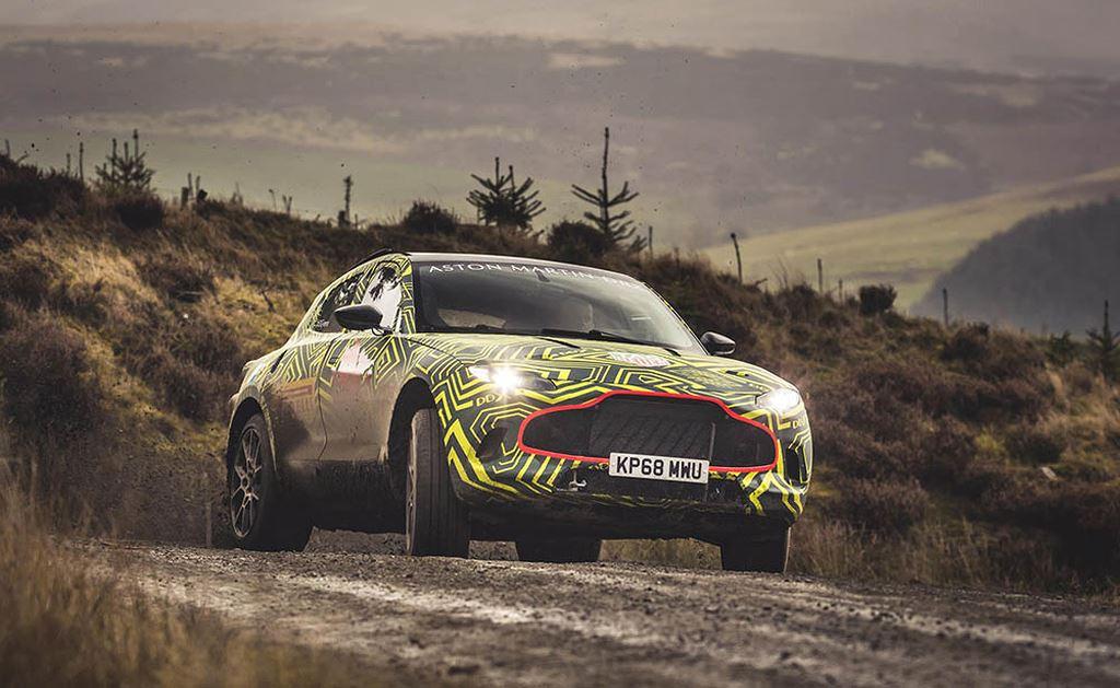 SUV quý tộc Aston Martin DBX lần đầu thử offroad thực địa - Hình 1