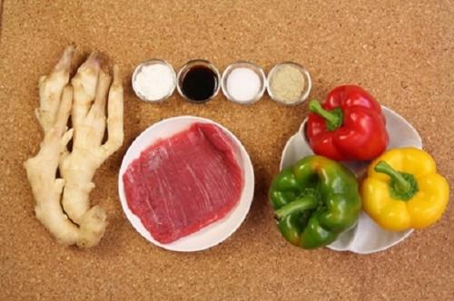 Biến tấu thịt bò xào ớt chuông lạ mắt - Hình 1