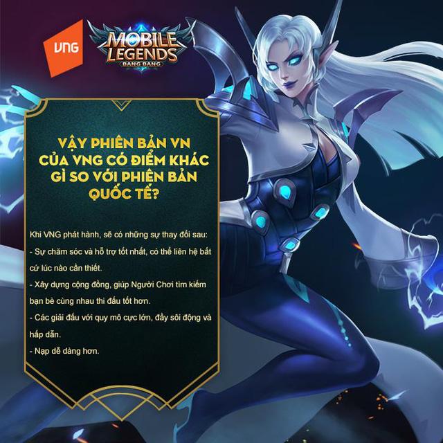 Mobile Legends: Bang Bang VNG game thủ hỏi nhà phát hành trả lời - Hình 2
