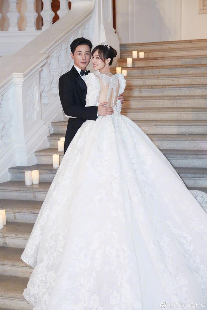 4 váy cưới xa xỉ, tốn hàng nghìn giờ làm thủ công của Đường Yên - Hình 1