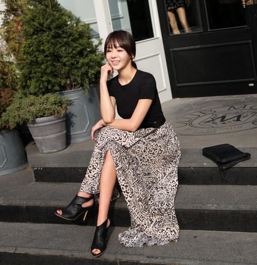 Chọn váy công sở phù hợp cho cô nàng siêu vòng mông - Hình 12