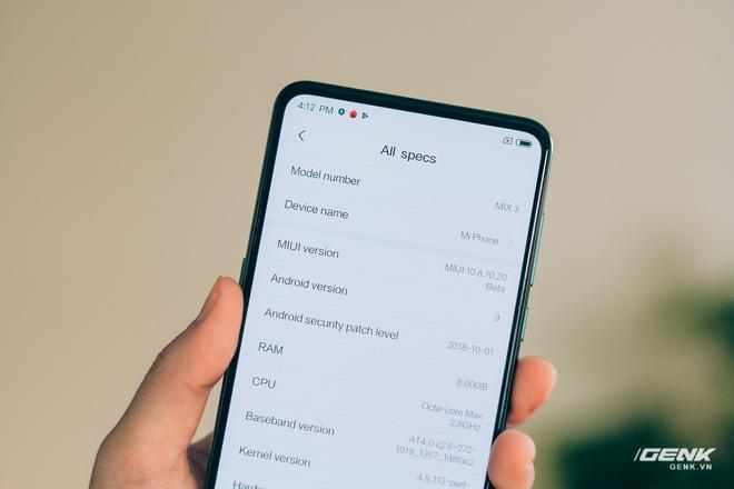Mở hộp và trên tay Xiaomi Mi Mix 3 mới về VN: Thiết kế trượt độc đáo, cấu hình mạnh, tặng kèm sạc không dây - Hình 20