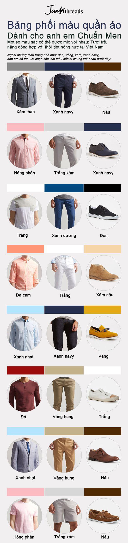 Phối màu quần áo dành cho phái mạnh - Hình 1