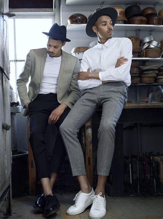 Quý ông sành điệu phải mặc veston với giày thể thao! - Hình 7