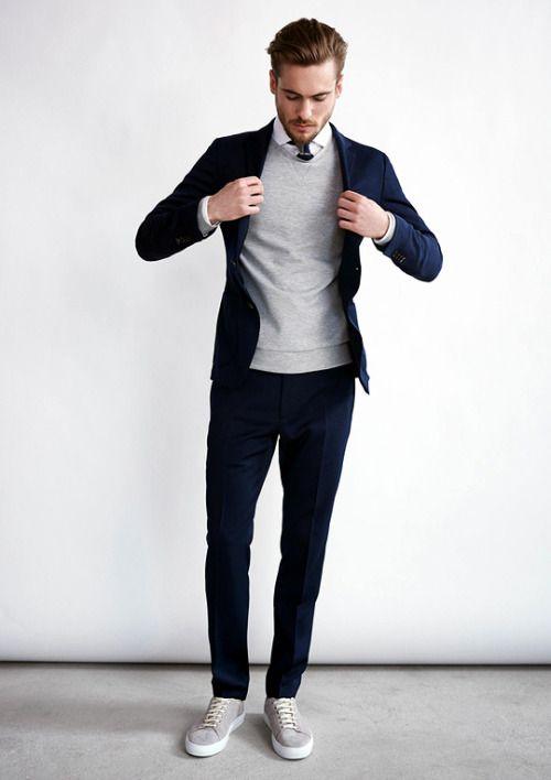 Quý ông sành điệu phải mặc veston với giày thể thao! - Hình 14