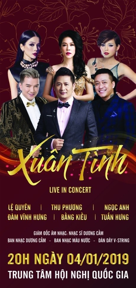 Bằng Kiều - Tuấn Hưng tái ngộ trong Live in concert Xuân Tình - Hình 1