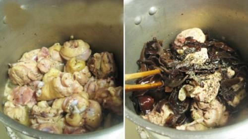 Thịt gà nấu đông cho bữa cơm ngày lạnh thêm đậm đà - Hình 4