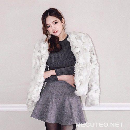 3 cách mix đồ với áo khoác lông cực sang chảnh mùa thu đông 2018 - 2019-2018 - Hình 22