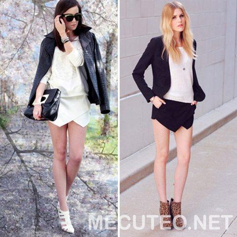 3 cách phối đồ với quần giả váy theo từng phong cách giúp cho bạn gái tự tin để xuất hiện trước đám đông - Hình 11