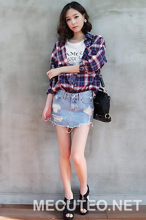 3 cách phối đồ với quần giả váy theo từng phong cách giúp cho bạn gái tự tin để xuất hiện trước đám đông - Hình 13
