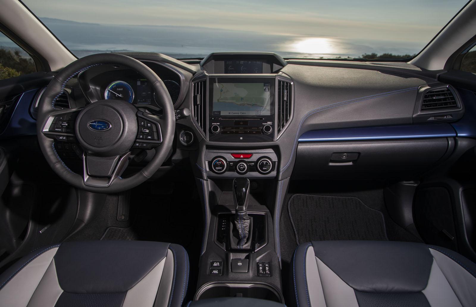 Subaru Crosstrek Hybrid 2019 ứng dụng công nghệ xe xanh của Toyota - Hình 10