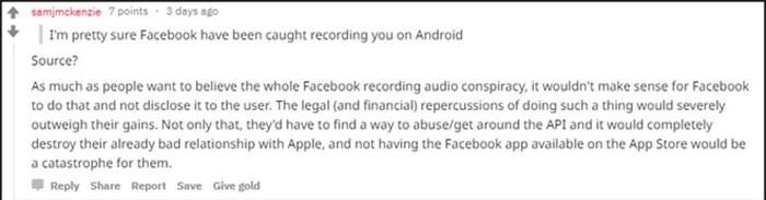Bị đơ iPhone X, lòi ra Facebook Messenger đang lén nghe trộm người dùng? - Hình 3