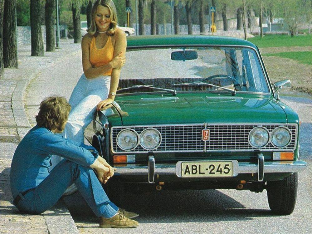 Ngỡ ngàng bộ ảnh quảng cáo ô tô gợi cảm thời Liên Xô - Hình 3