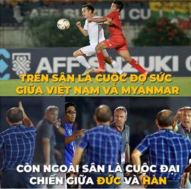 Loạt ảnh chế hài hước AFF Cup 2018 của cộng đồng mạng Việt Nam - Hình 2