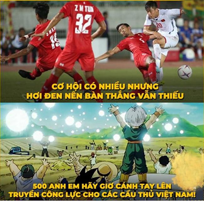 Loạt ảnh chế hài hước AFF Cup 2018 của cộng đồng mạng Việt Nam - Hình 3