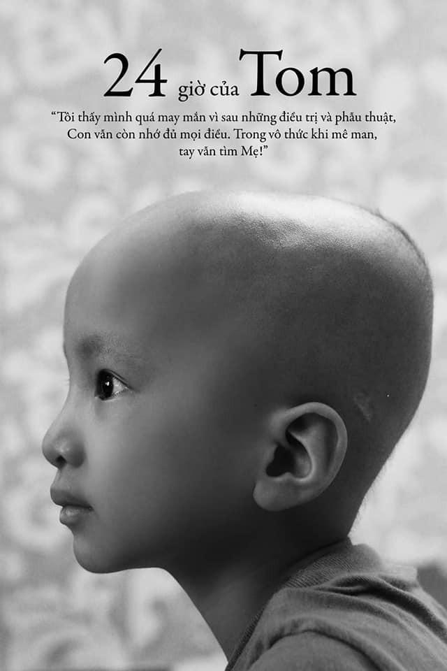 24 giờ của Tom - bộ ảnh xúc động của một người mẹ có con trai bị ung thư não khi mới 33 tháng tuổi - Hình 4