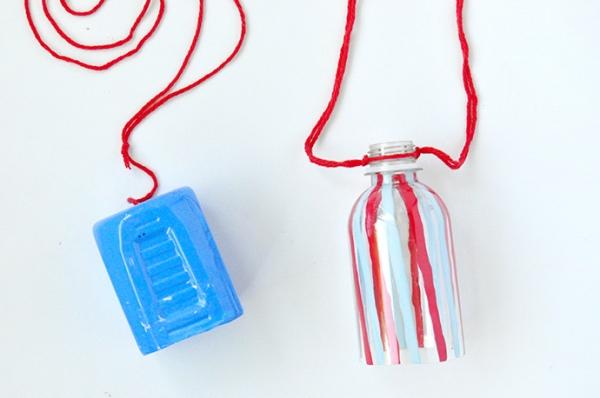 3 món đồ xinh xinh dễ làm từ chai nhựa và đồ tái chế - Hình 3