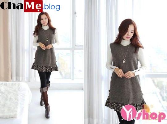Áo len nữ cổ lọ đẹp phong cách Hàn Quốc dịu dàng đông - Hình 17