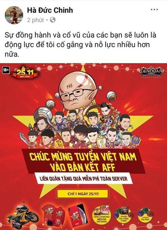 Các cầu thủ U23 gửi lời cảm ơn người hâm mộ sau khi đè bẹp đội tuyển Campuchia trên sân Hàng Đẫy - Hình 7