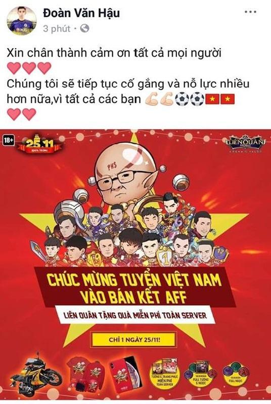 Các cầu thủ U23 gửi lời cảm ơn người hâm mộ sau khi đè bẹp đội tuyển Campuchia trên sân Hàng Đẫy - Hình 5