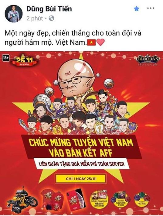 Các cầu thủ U23 gửi lời cảm ơn người hâm mộ sau khi đè bẹp đội tuyển Campuchia trên sân Hàng Đẫy - Hình 4