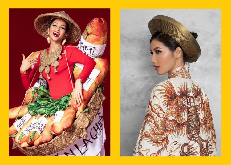 Cùng là National Costume nhưng Bánh mì bị chê kém sang, còn Hoàng Bào lại được khen nức nở - Hình 2