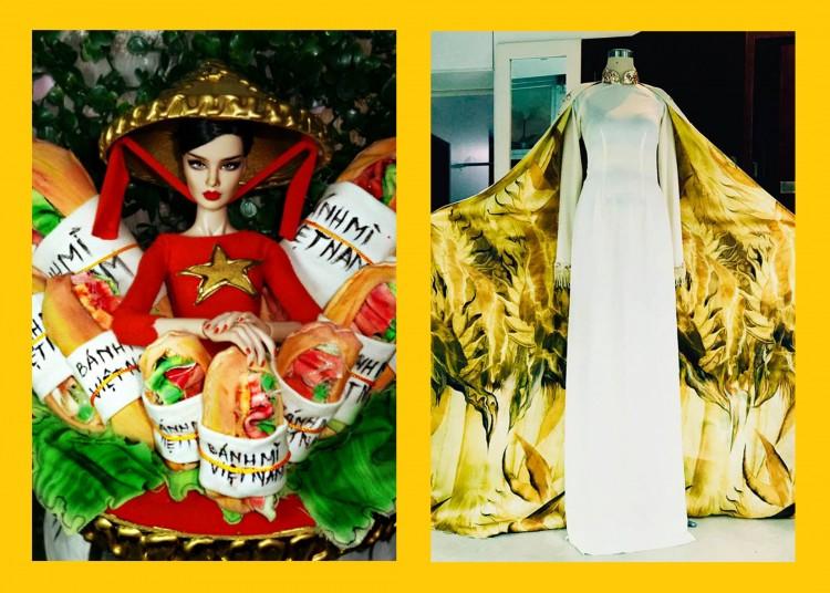 Cùng là National Costume nhưng Bánh mì bị chê kém sang, còn Hoàng Bào lại được khen nức nở - Hình 5