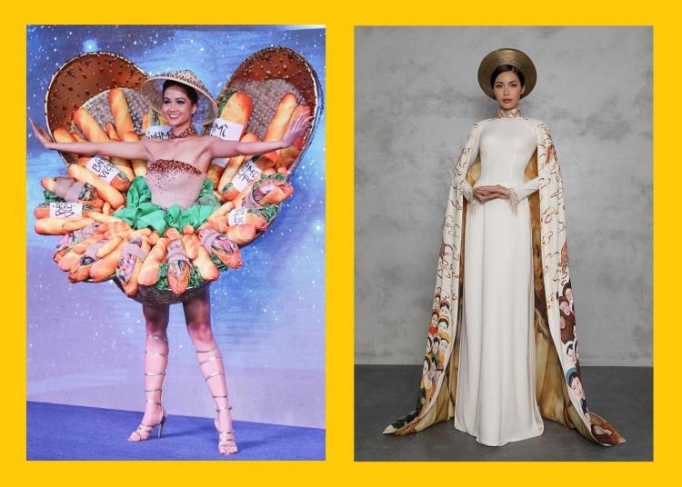 Cùng là National Costume nhưng Bánh mì bị chê kém sang, còn Hoàng Bào lại được khen nức nở - Hình 6