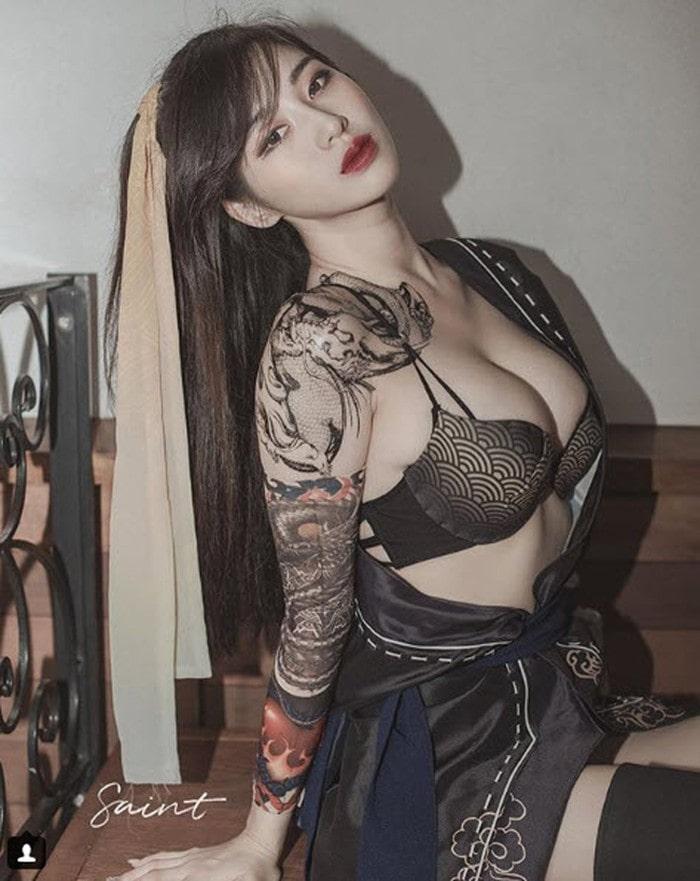 Đây là chân dung Hotgirl sở hữu khe ngực đẹp nhất Hàn Quốc - Hình 3