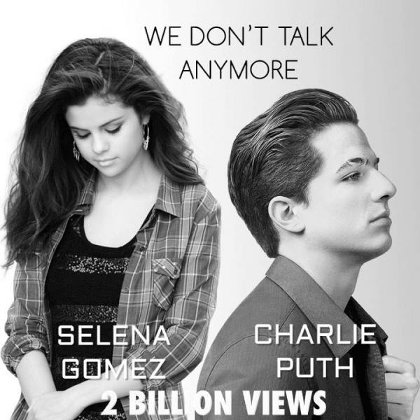 MV song ca gây sốt của Charlie Puth và Selena Gomez cán mốc 2 tỷ view trên Youtube - Hình 1