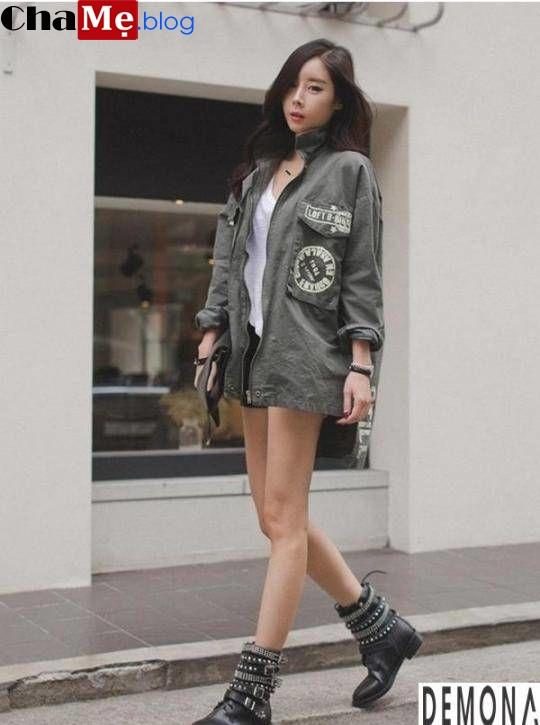 Những kiểu áo khoác nữ dáng ngắn đẹp hợp thời trang thu đông - Hình 11