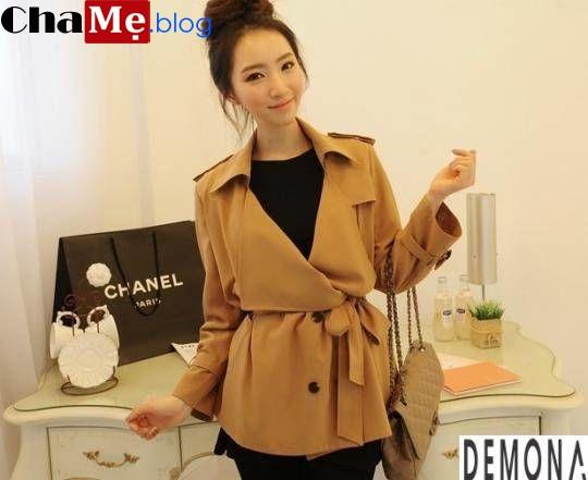 Những kiểu áo khoác nữ dáng ngắn đẹp hợp thời trang thu đông - Hình 12