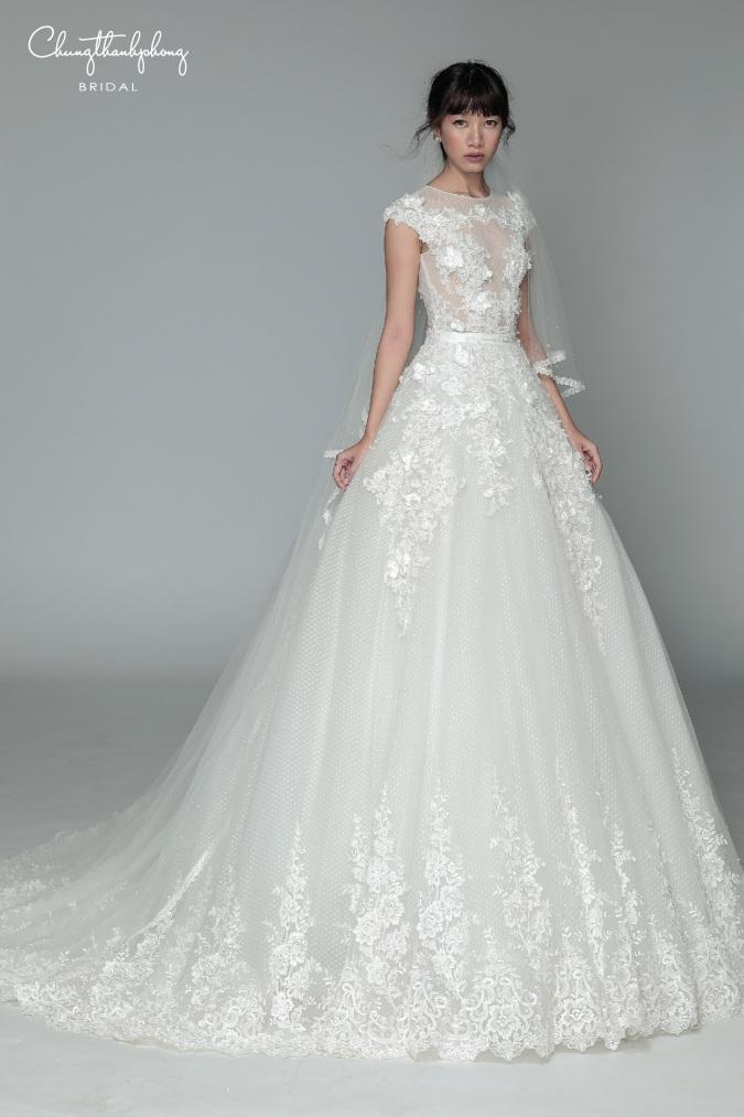 Những mẫu váy cưới ren, cho tín đồ mê ren đây rồi! - Hình 4