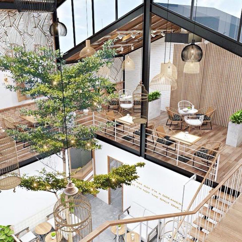 Những quán cà phê và khu tổ hợp xinh xắn khiến bạn muốn bất chấp book vé đi Đà Nẵng ngay - Hình 9
