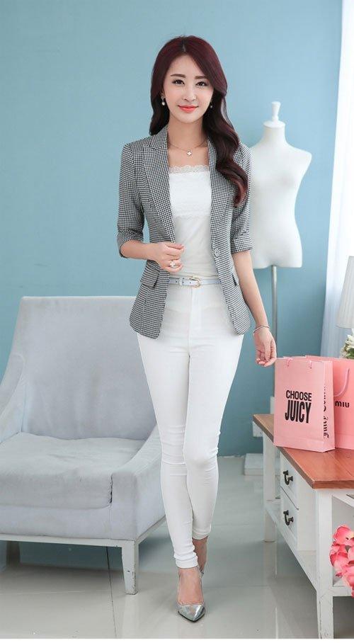 Tiết lộ cách mix đồ cực chuẩn với áo vest nữ lỡ tay - Hình 2