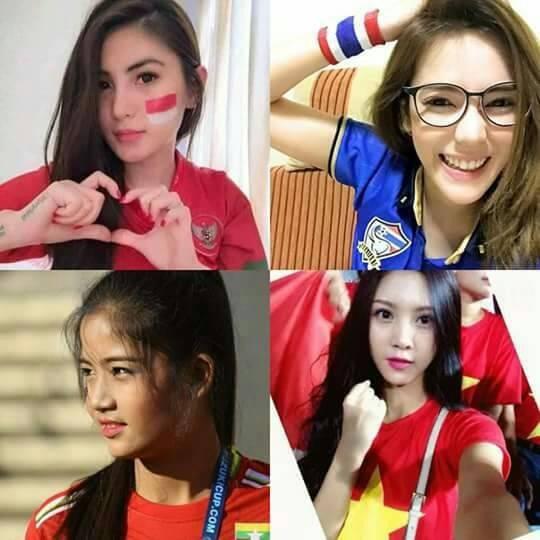 Điên tiết vì đội tuyển Việt Nam có quá nhiều gái xinh, toàn Đông Nam Á thi nhau khoe ảnh hot girl cổ vũ bóng đá - Hình 5
