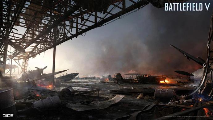 Phô diễn đồ họa siêu tưởng, Battlefield V khiến người chơi cứ ngỡ là xem phim Hollywood - Hình 2