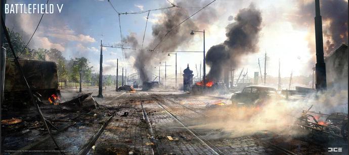 Phô diễn đồ họa siêu tưởng, Battlefield V khiến người chơi cứ ngỡ là xem phim Hollywood - Hình 1