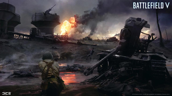 Phô diễn đồ họa siêu tưởng, Battlefield V khiến người chơi cứ ngỡ là xem phim Hollywood - Hình 3