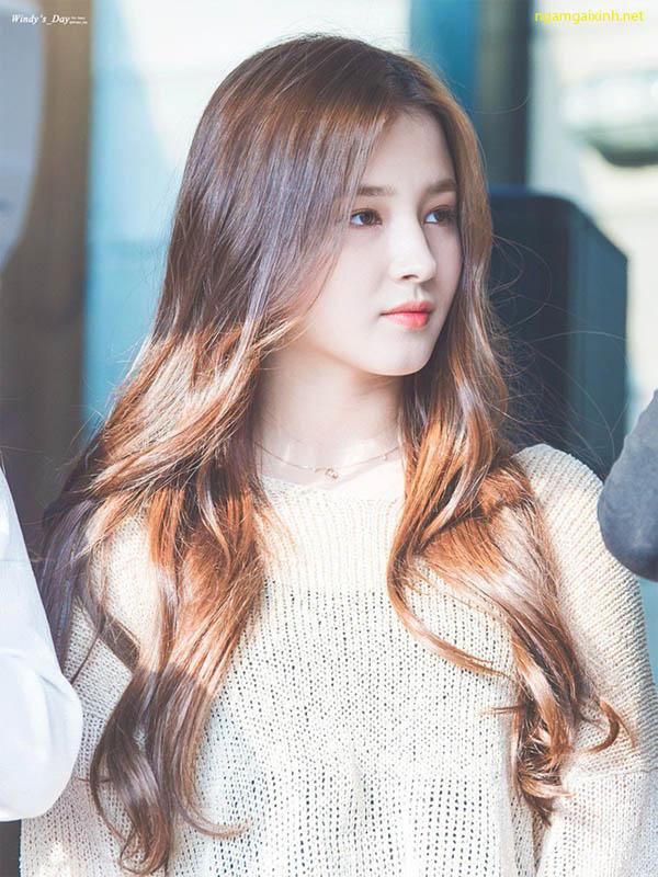 Vẻ đẹp tựa thiên thần của nữ ca sĩ Nancy ,mỹ nhân xinh đẹp xứ kim chi - Hình 5