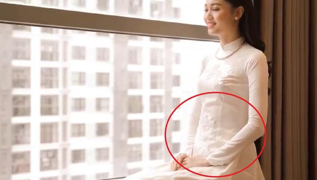 Vốn sở hữu thân hình mỏng như giấy, nhưng vòng 2 của Á hậu Thanh Tú lại khó hiểu thế này trước đám cưới - Hình 1