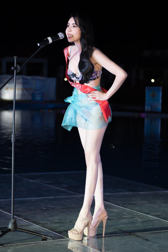 Ảnh đồ tắm bốc lửa của mỹ nhân Việt thắng giải body đẹp nhất Hoa hậu Du lịch Thế giới - Hình 4