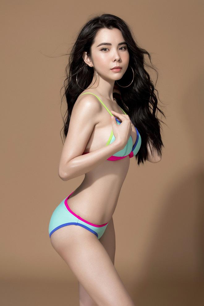 Ảnh đồ tắm bốc lửa của mỹ nhân Việt thắng giải body đẹp nhất Hoa hậu Du lịch Thế giới - Hình 7