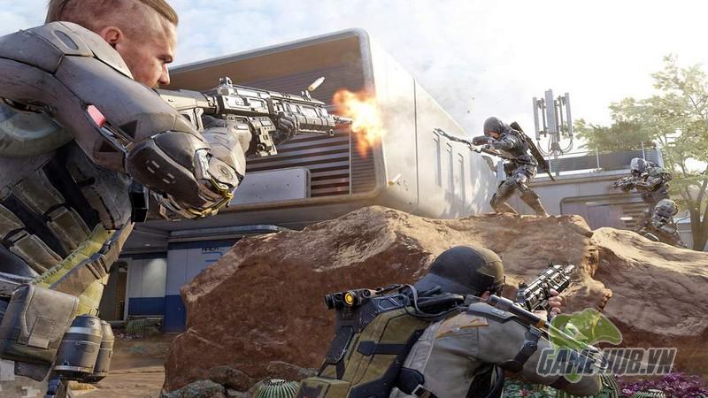 Chết cười cặp đôi bị cảnh sát gõ cửa hỏi thăm vì chơi Call of Duty: Black Ops 4 - Hình 1