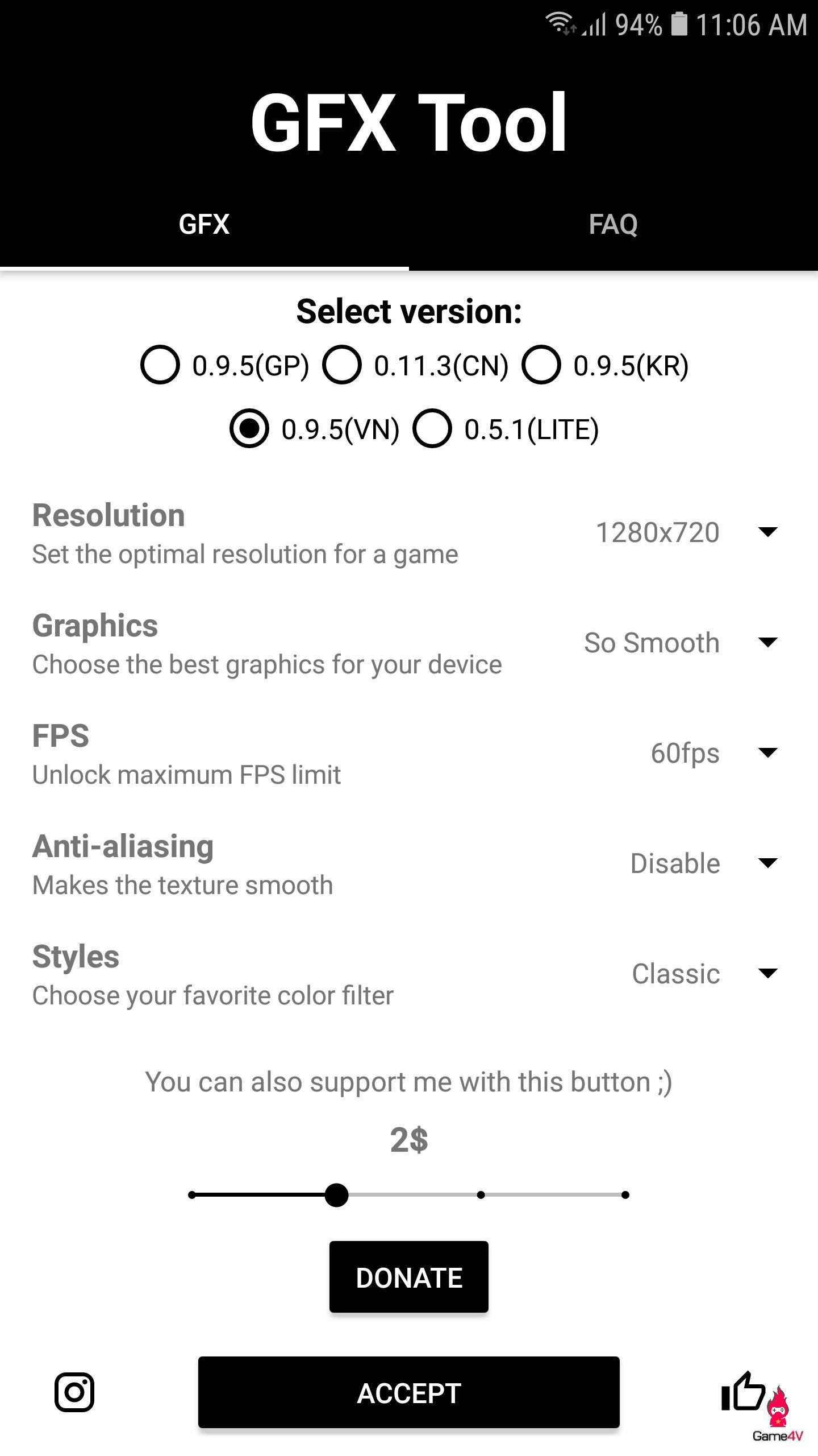 Ngay khi VNG vừa phát hành PUBG Mobile, GFX Tool cũng tung update hỗ trợ phiên bản Việt Nam - Hình 1