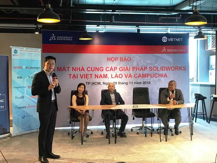 Ra mắt nhà cung cấp giải pháp SolidWorks tại Việt Nam, Lào và Campuchia - Hình 2